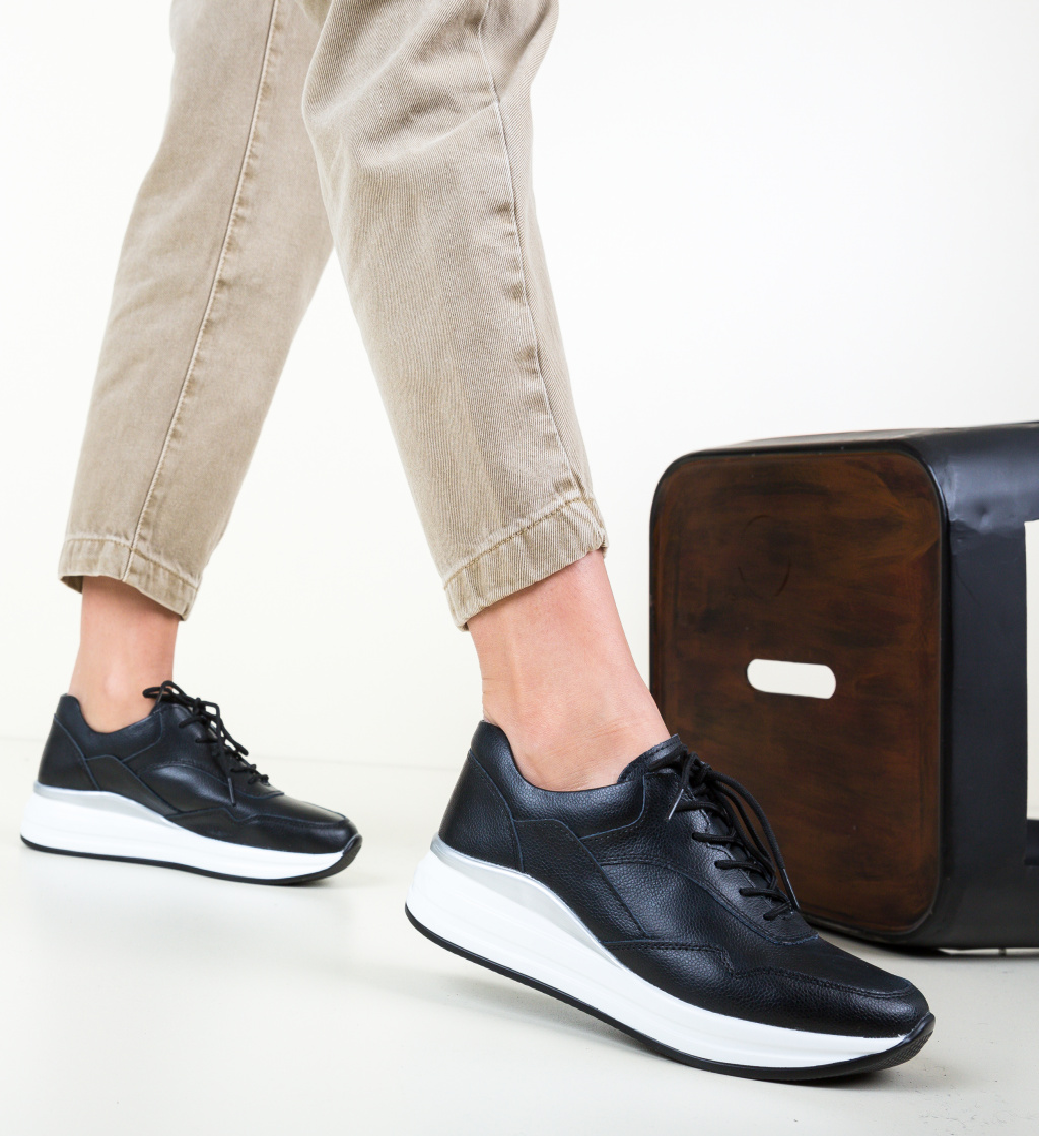 Pantofi Casual Lynde Negri