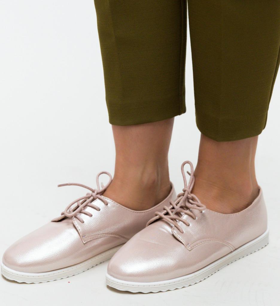 Pantofi Casual Potir Roz