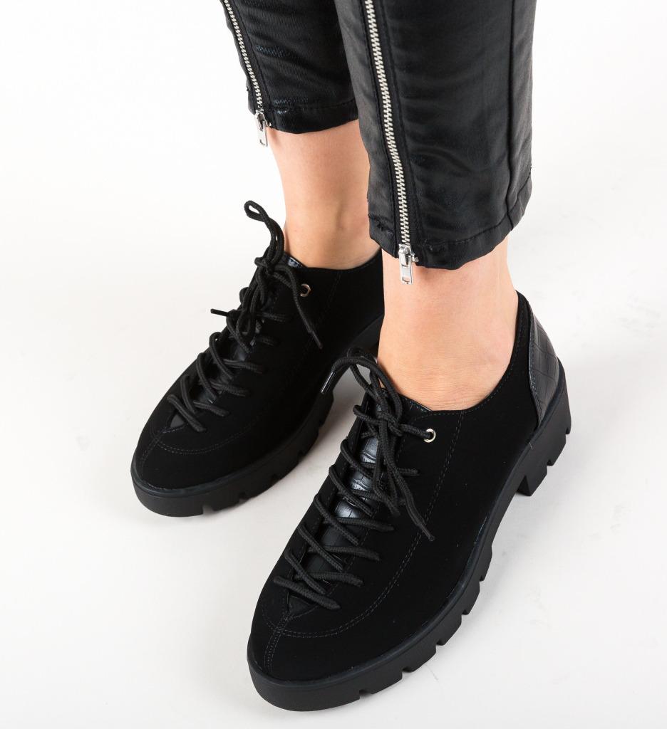 Pantofi Casual Rees Negri 2