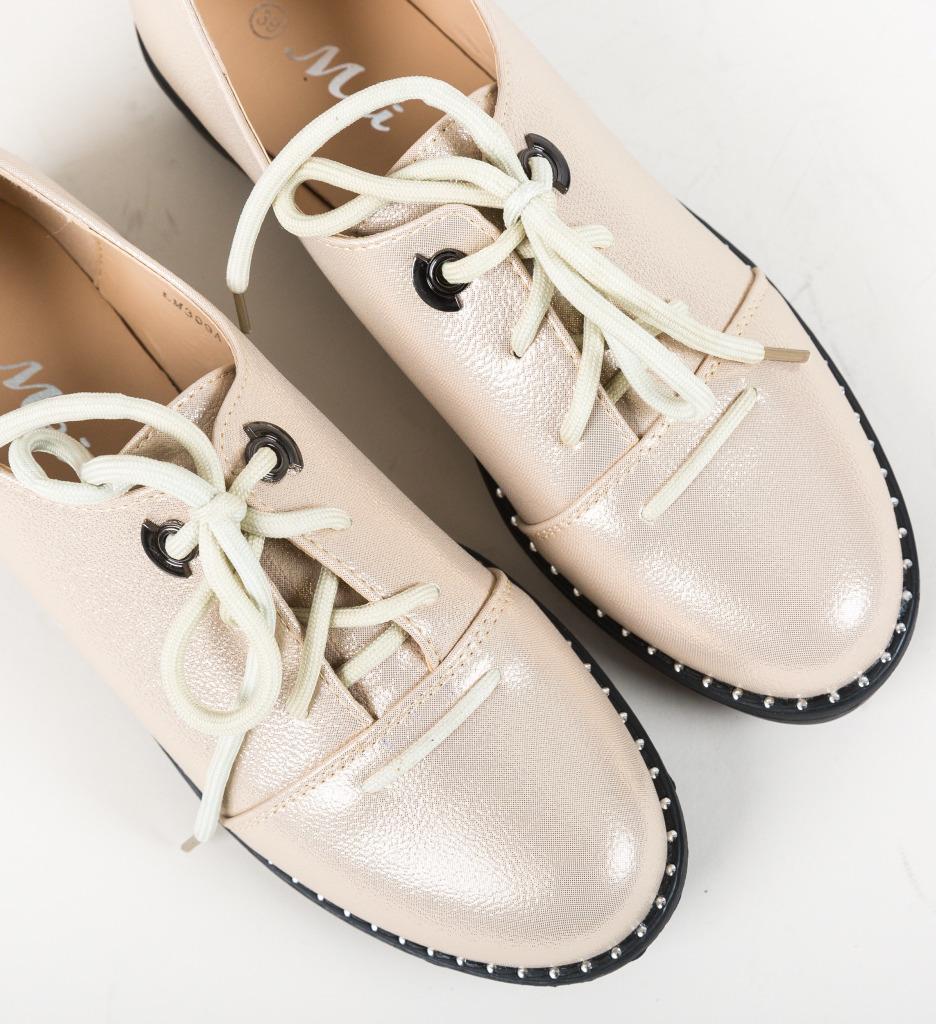 Pantofi Casual Riggs Aurii