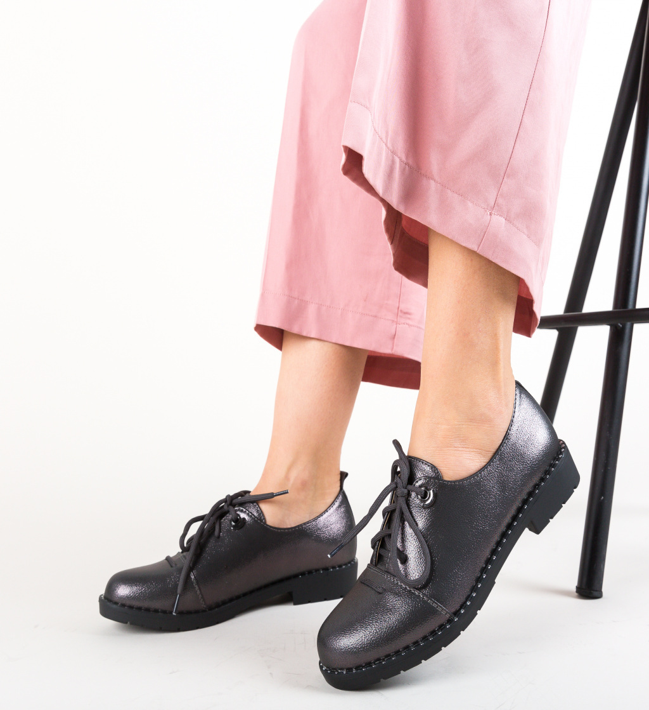 Pantofi Casual Riggs Gri