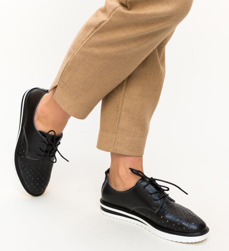 Pantofi Casual Rofrel Negri