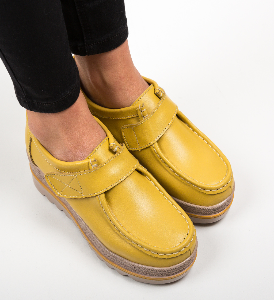 Pantofi Casual Straif Galbeni