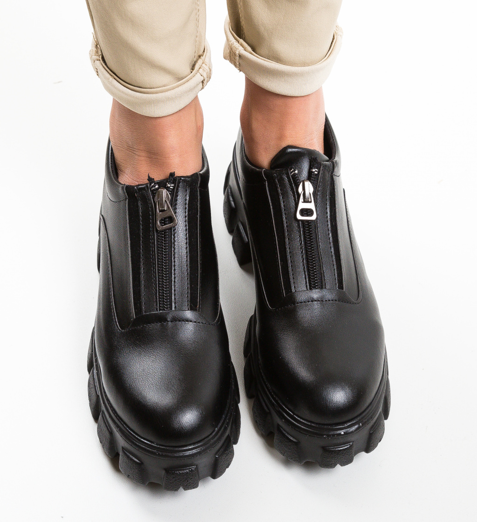 Pantofi Casual Sylas Negri