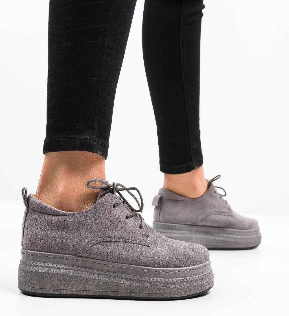 Pantofi Casual Ternina Gri