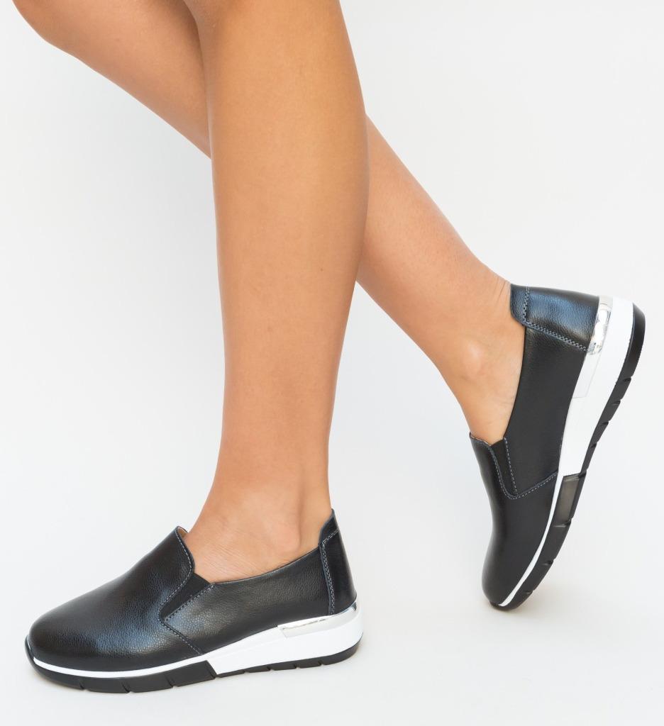 Pantofi Casual Vestri Negri
