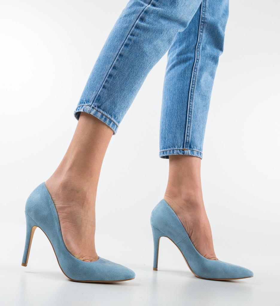 Pantofi Cerys Albastrii