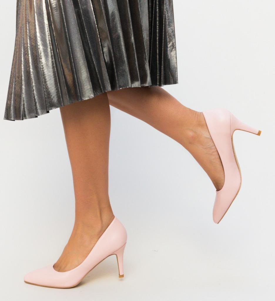 Pantofi Cheloo Roz