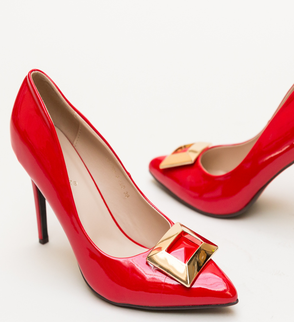 Pantofi Combs Rosii imagine