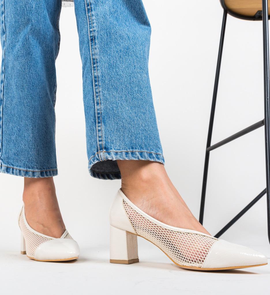 Pantofi Drugan Bej