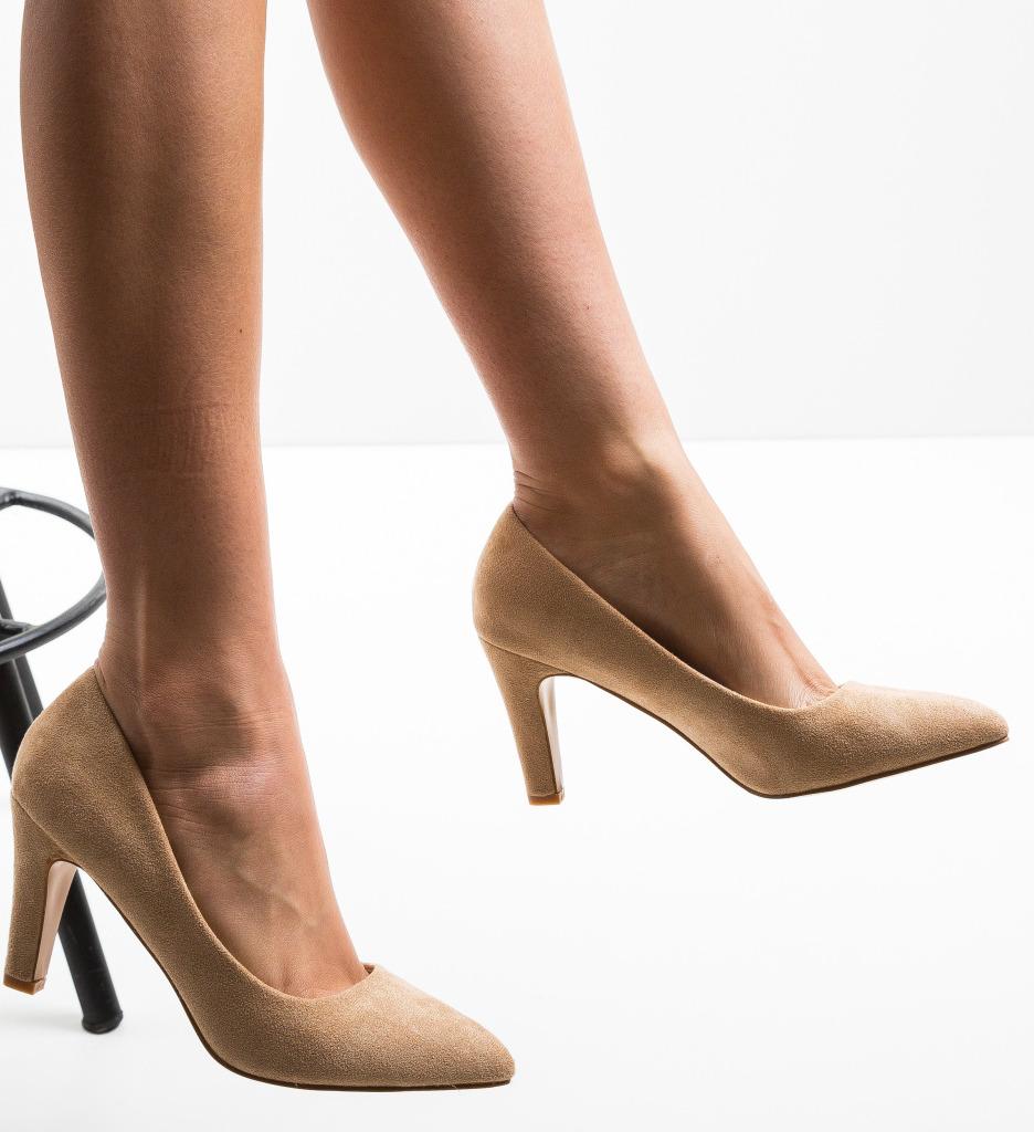 Pantofi Erba Bej