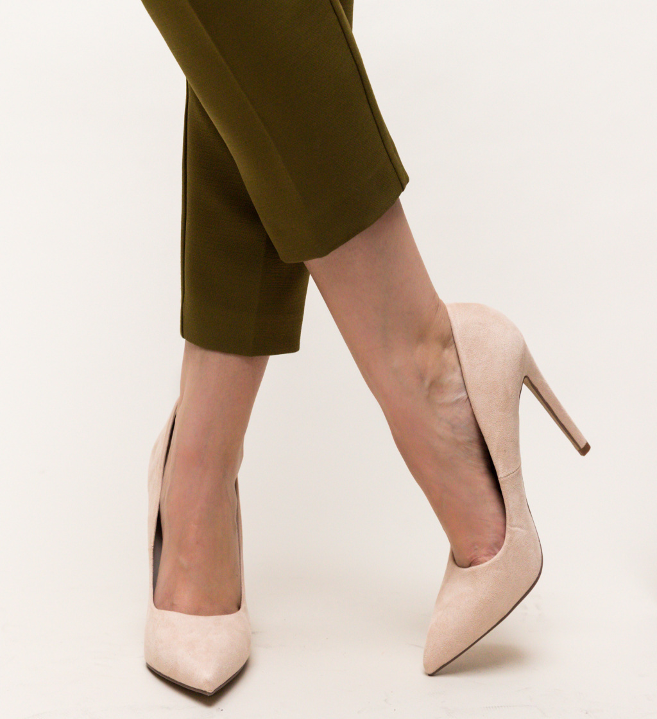Pantofi Esme Bej