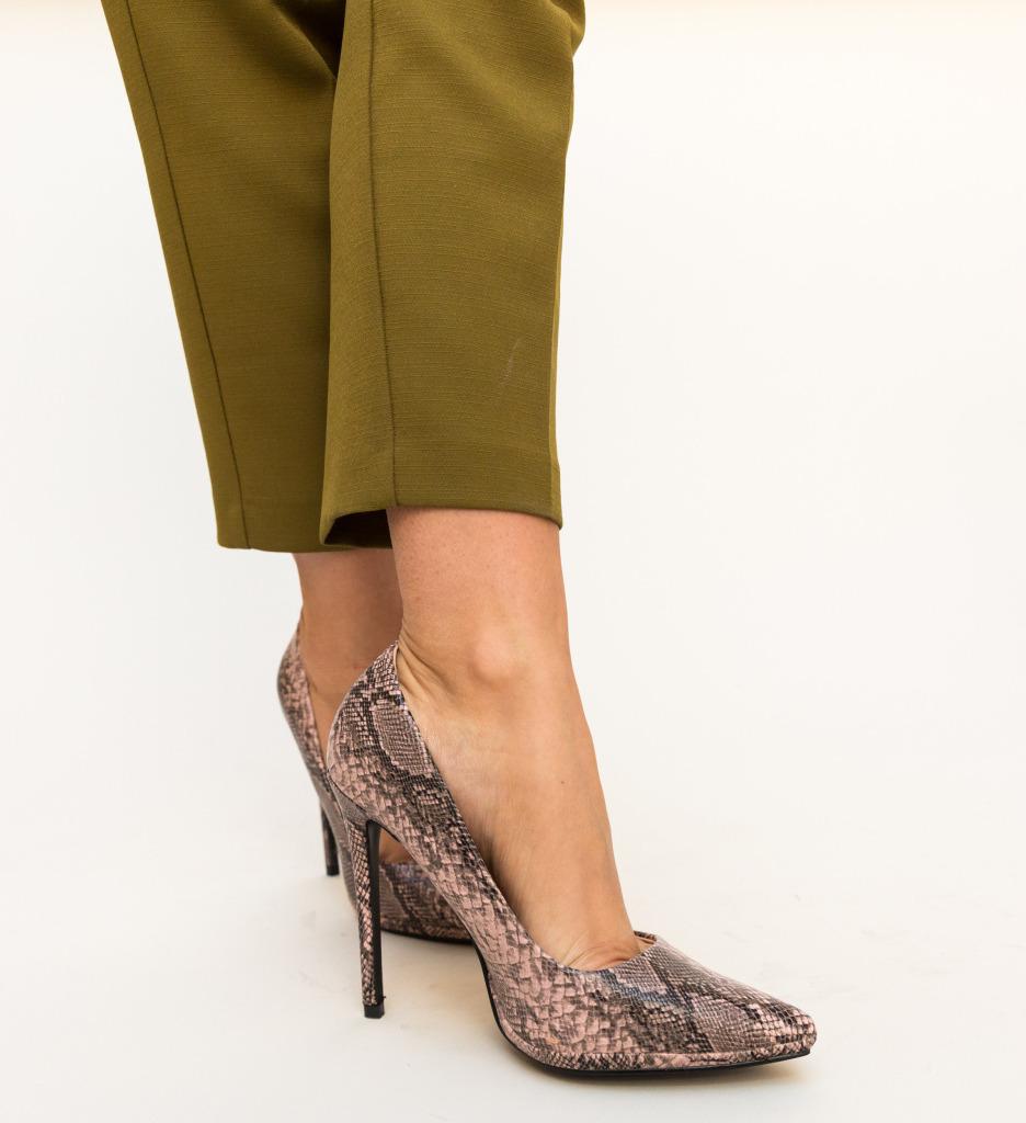 Pantofi Eylin Roz
