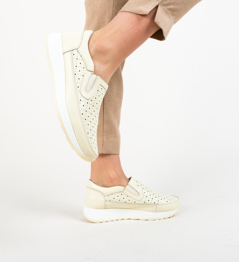 Pantofi Ferne Bej