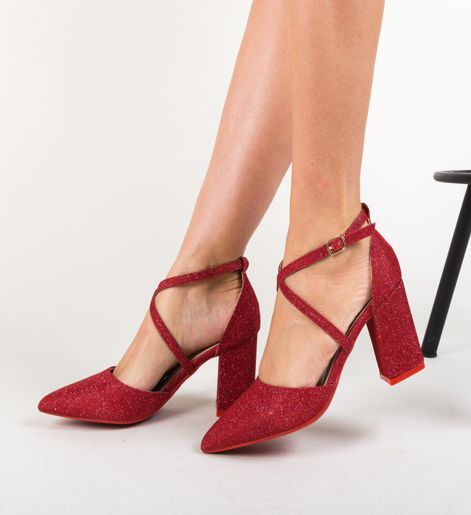 Pantofi Hama Rosii