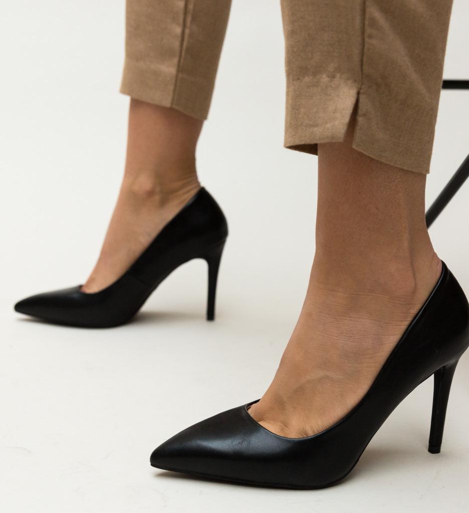 Pantofi Jaidon Negri