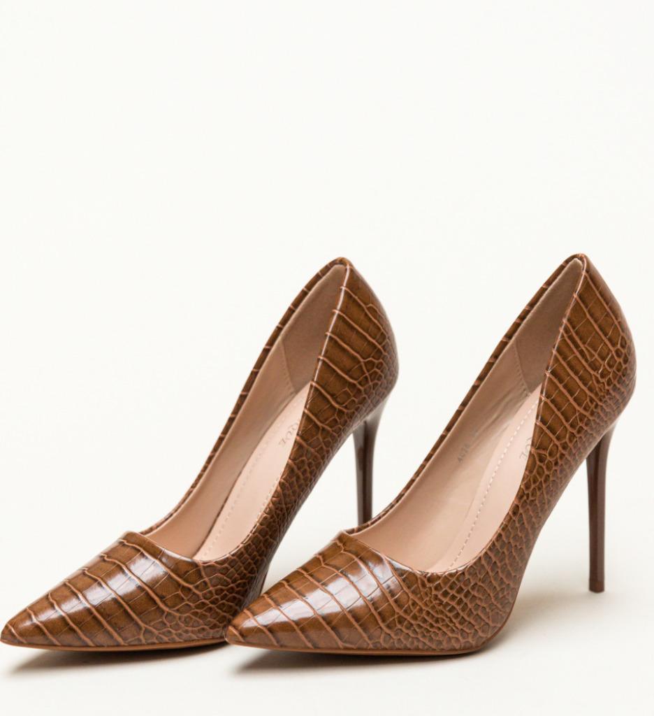 Pantofi Lolo Camel