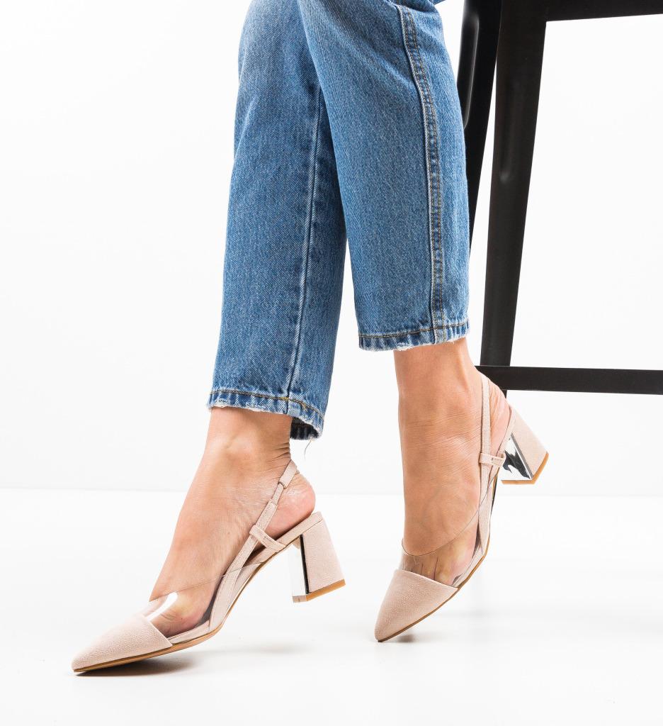 Pantofi Milla Bej