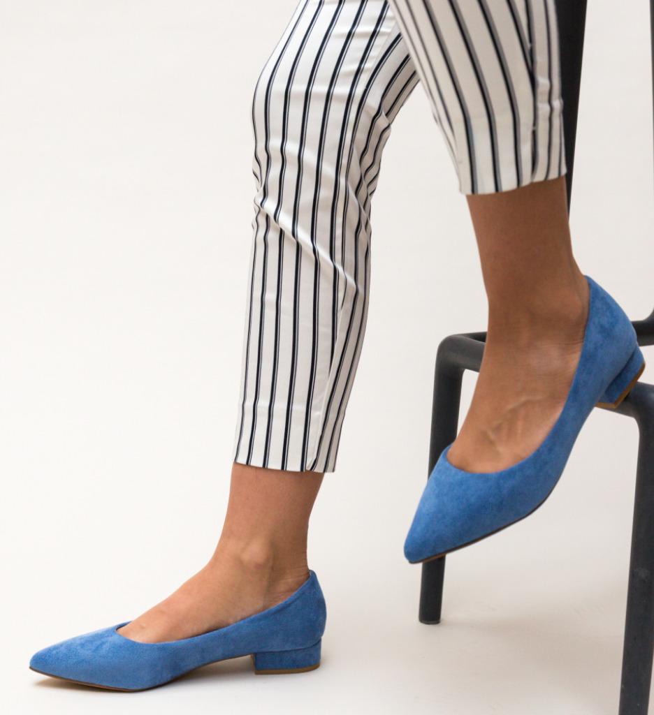 Pantofi Niam Albastri imagine