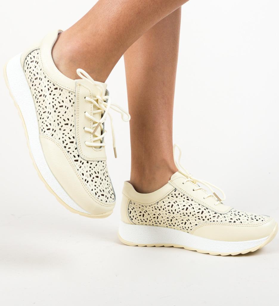 Pantofi Olsen Bej