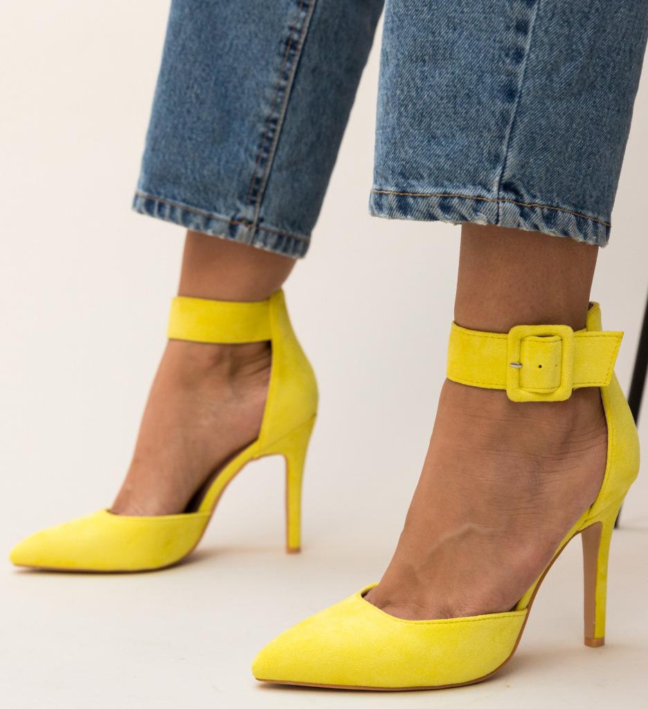Pantofi Ravlin Galbeni
