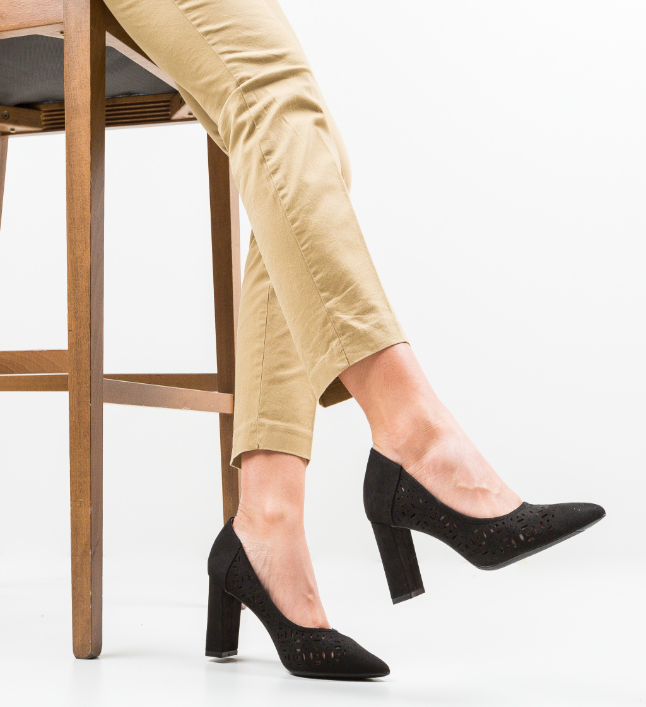 Pantofi Roc Negri