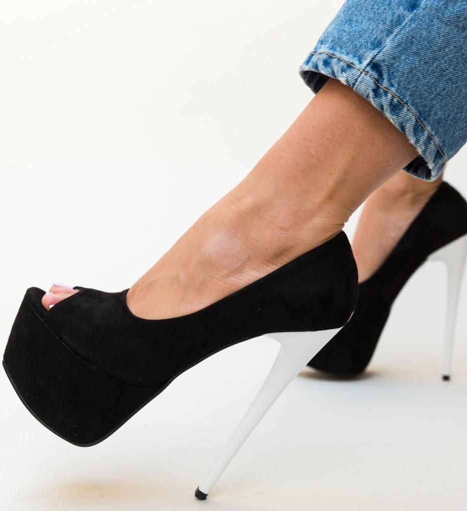 Pantofi Sabija Negri 2