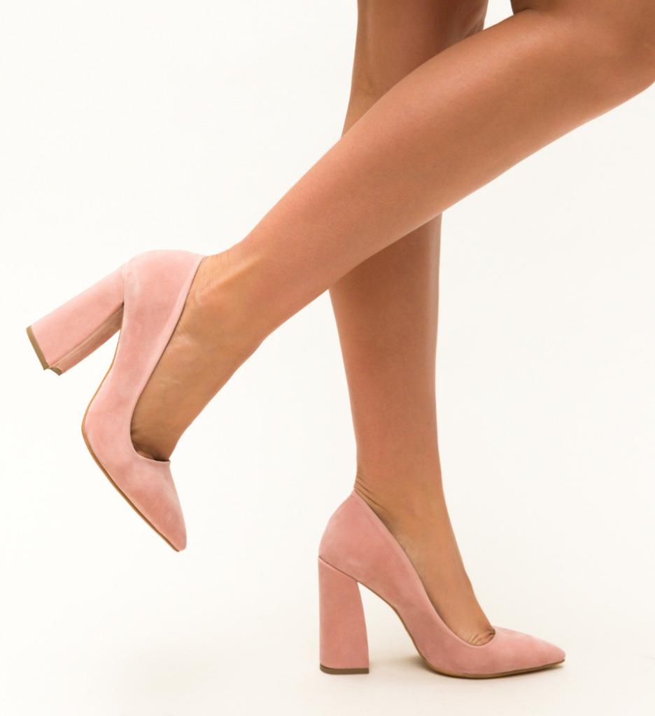 Pantofi Salim Roz 2