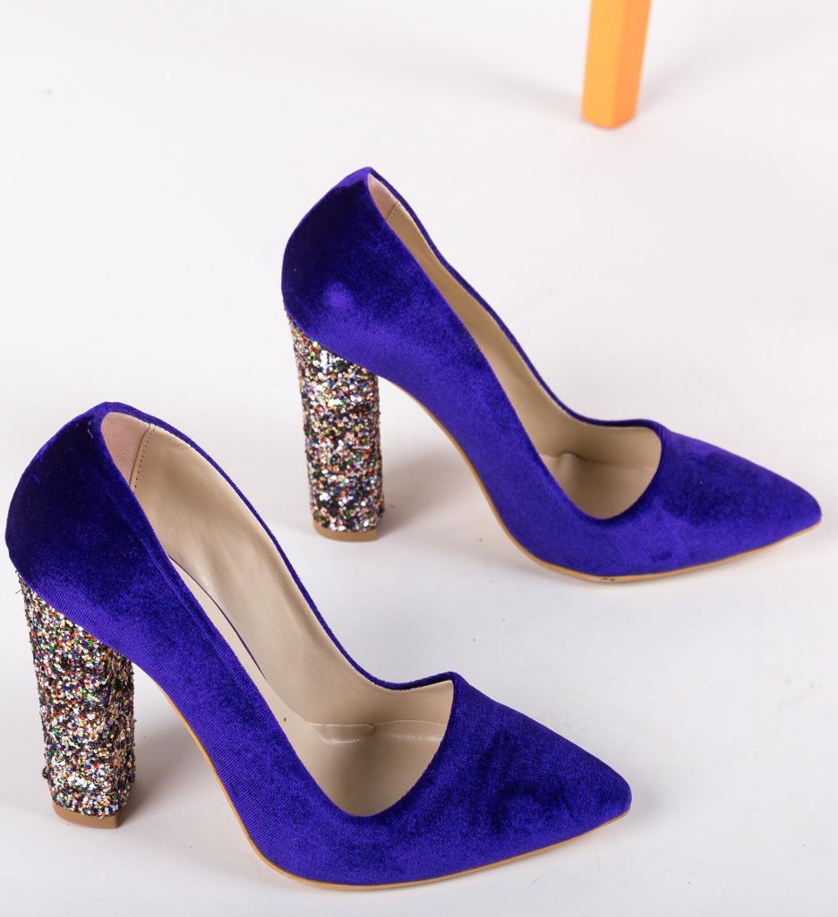 Pantofi Scalipo Mov