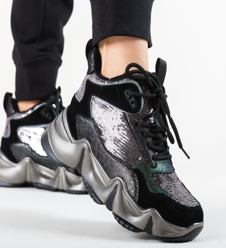 Pantofi Sport Edna Gri