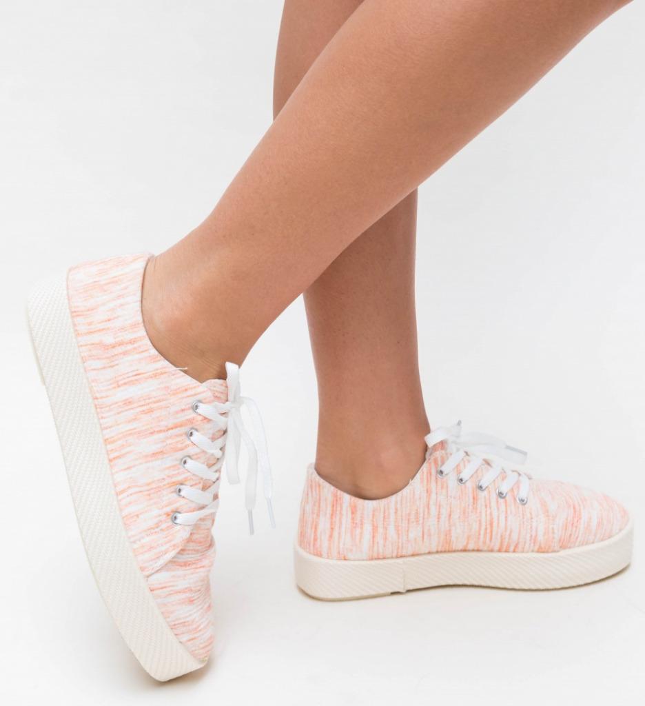 Pantofi Sport Embo Portocalii