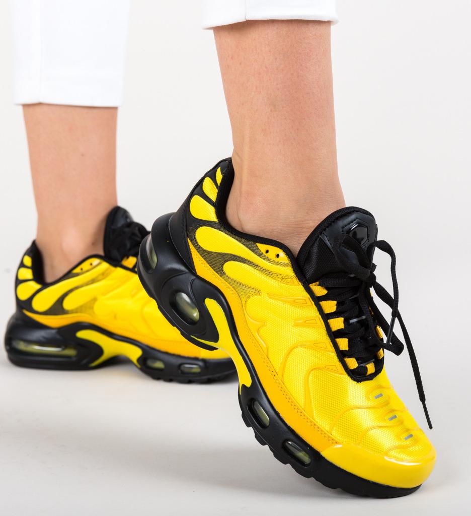 Pantofi Sport Gibbs Galbeni