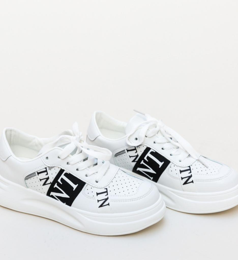 Pantofi Sport Gracie Albi 2