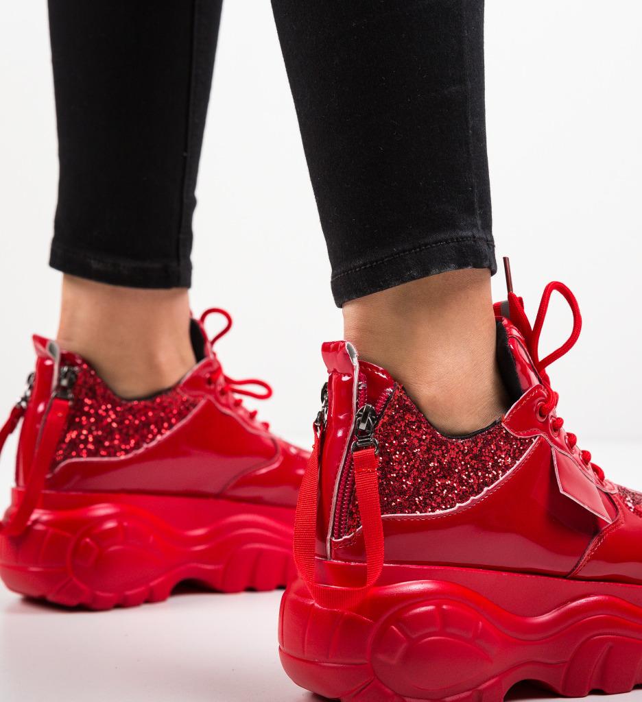 Pantofi Sport Iniana Rosii