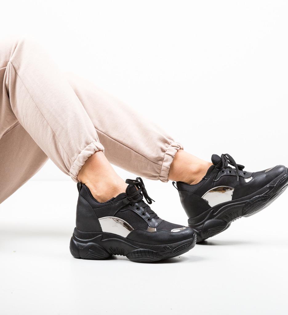 Pantofi Sport Mafina Negri