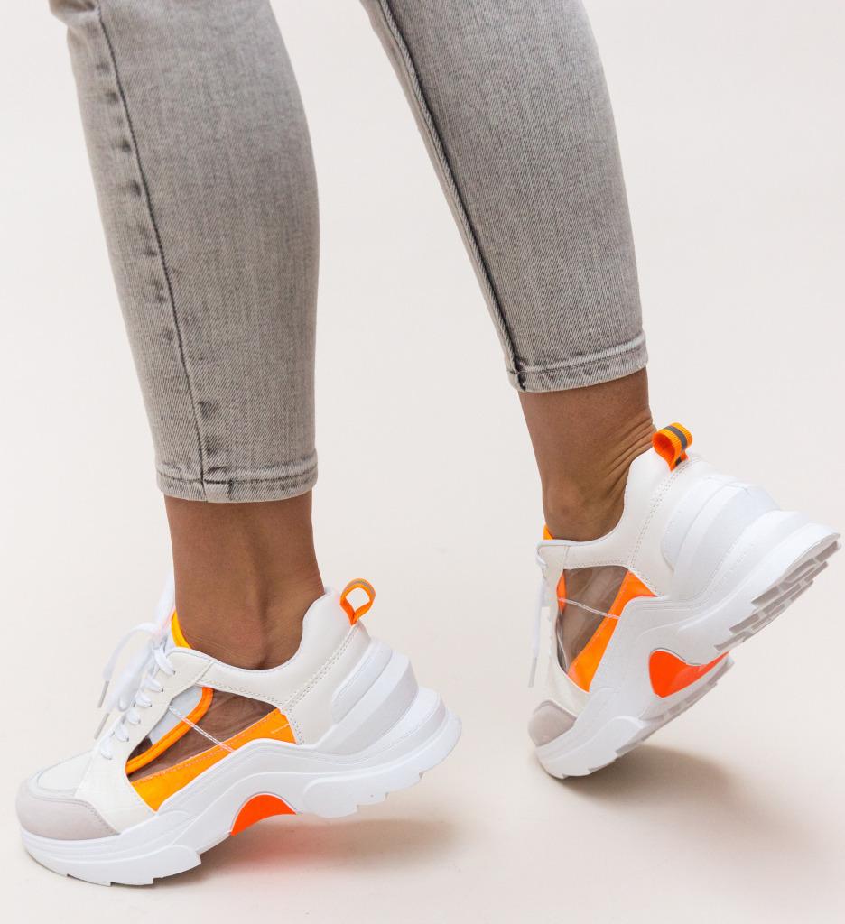 Pantofi Sport Nigen Albi