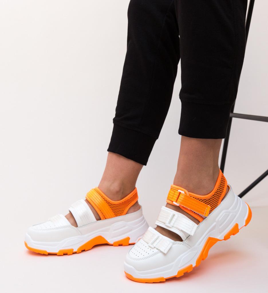 Pantofi Sport Paloma Portocalii