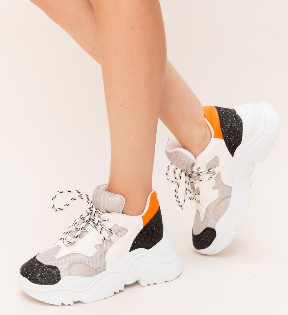 Pantofi Sport Riky Portocalii imagine 2021