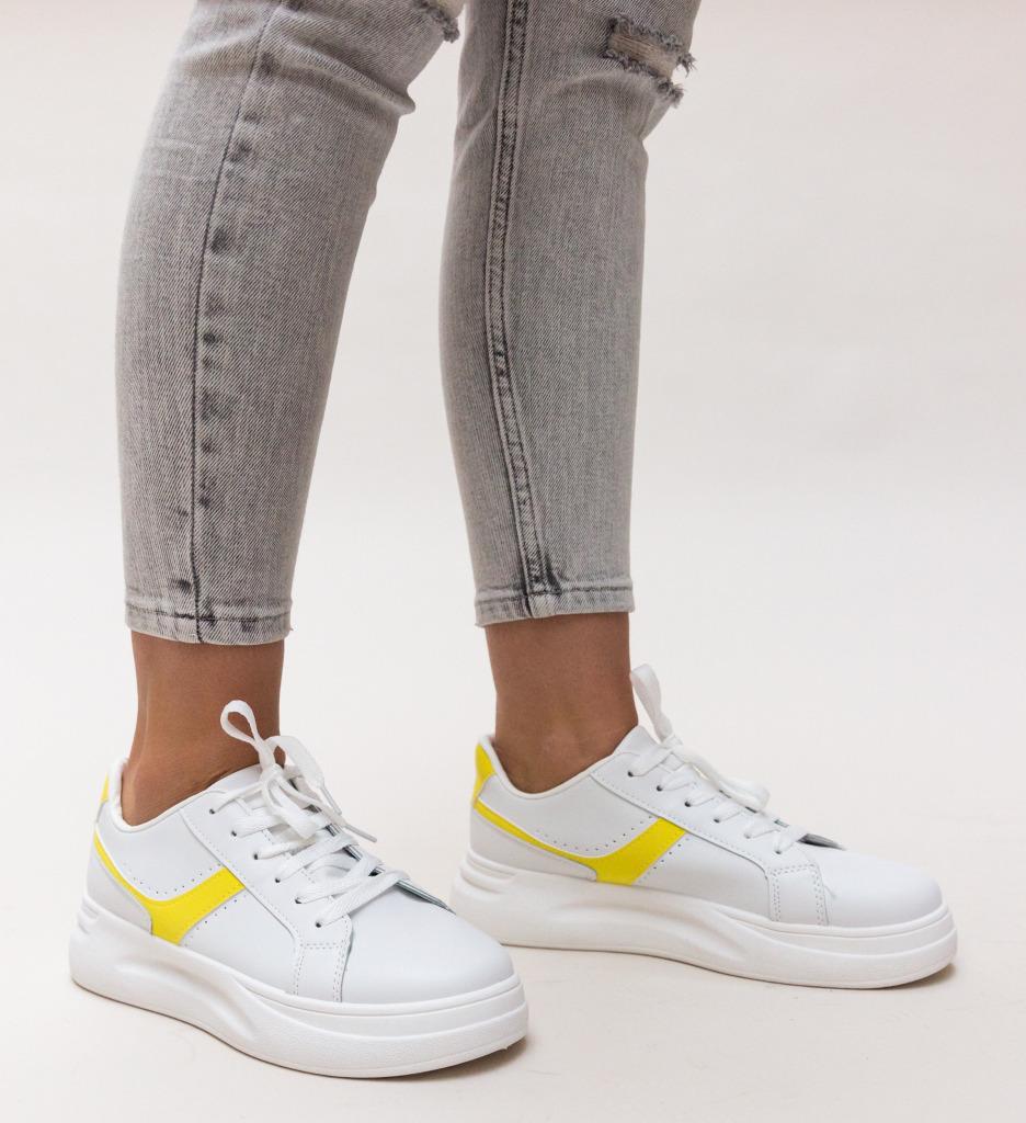 Pantofi Sport Stokes Galbeni