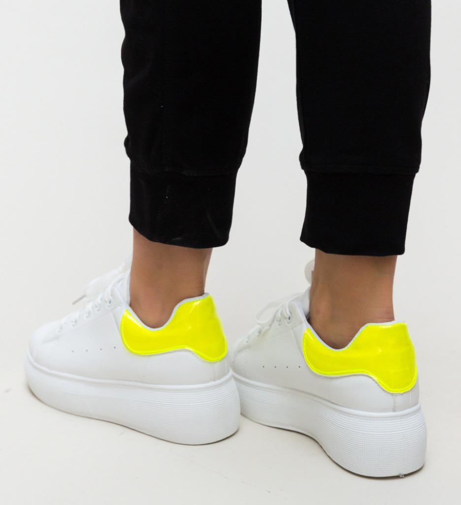 Pantofi Sport Taha Verzi Neon imagine