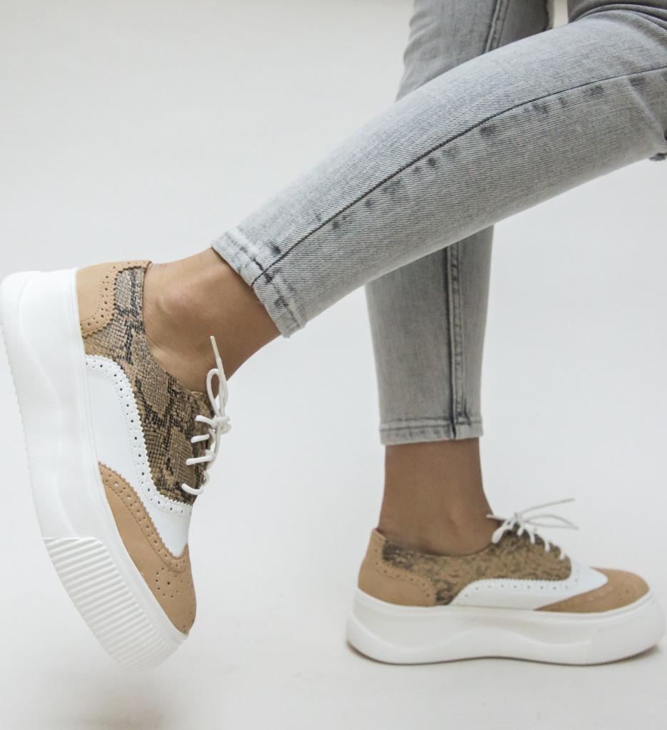 Pantofi Sport Tofer Camel