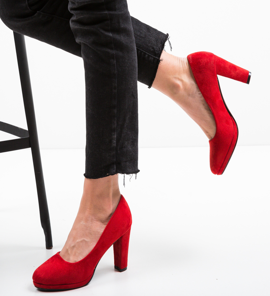 Pantofi Tregaza Rosii