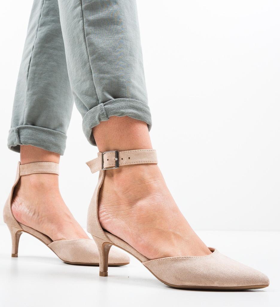 Pantofi Vill Bej