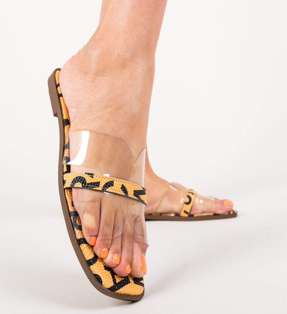 Papuci Broneo Portocalii