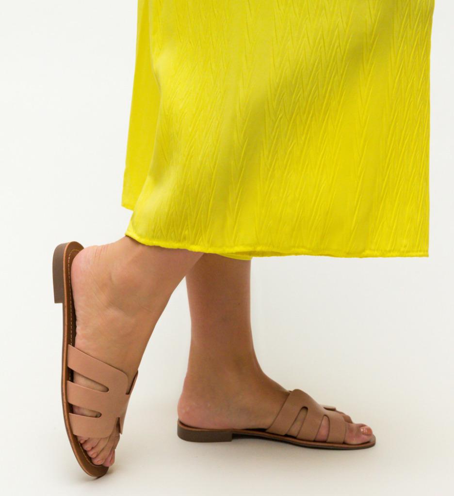 Papuci Nuala Roz