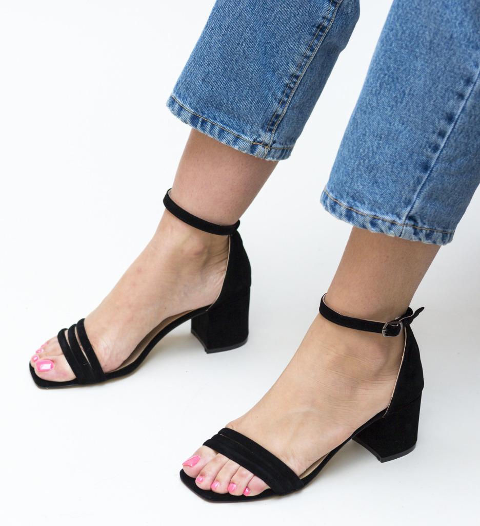 Sandale Bixi Negre