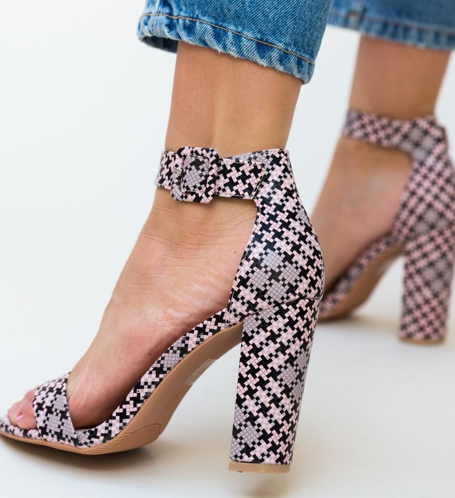 Sandale Blunda Roz