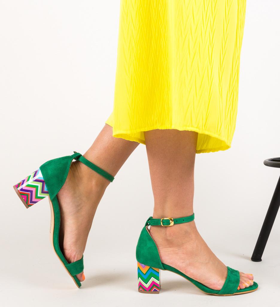 Sandale Calara Verzi