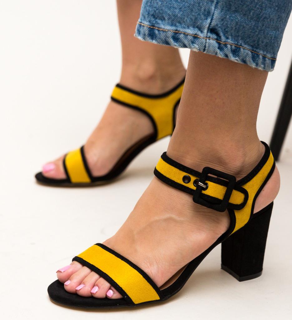 Sandale Clindar Galbene