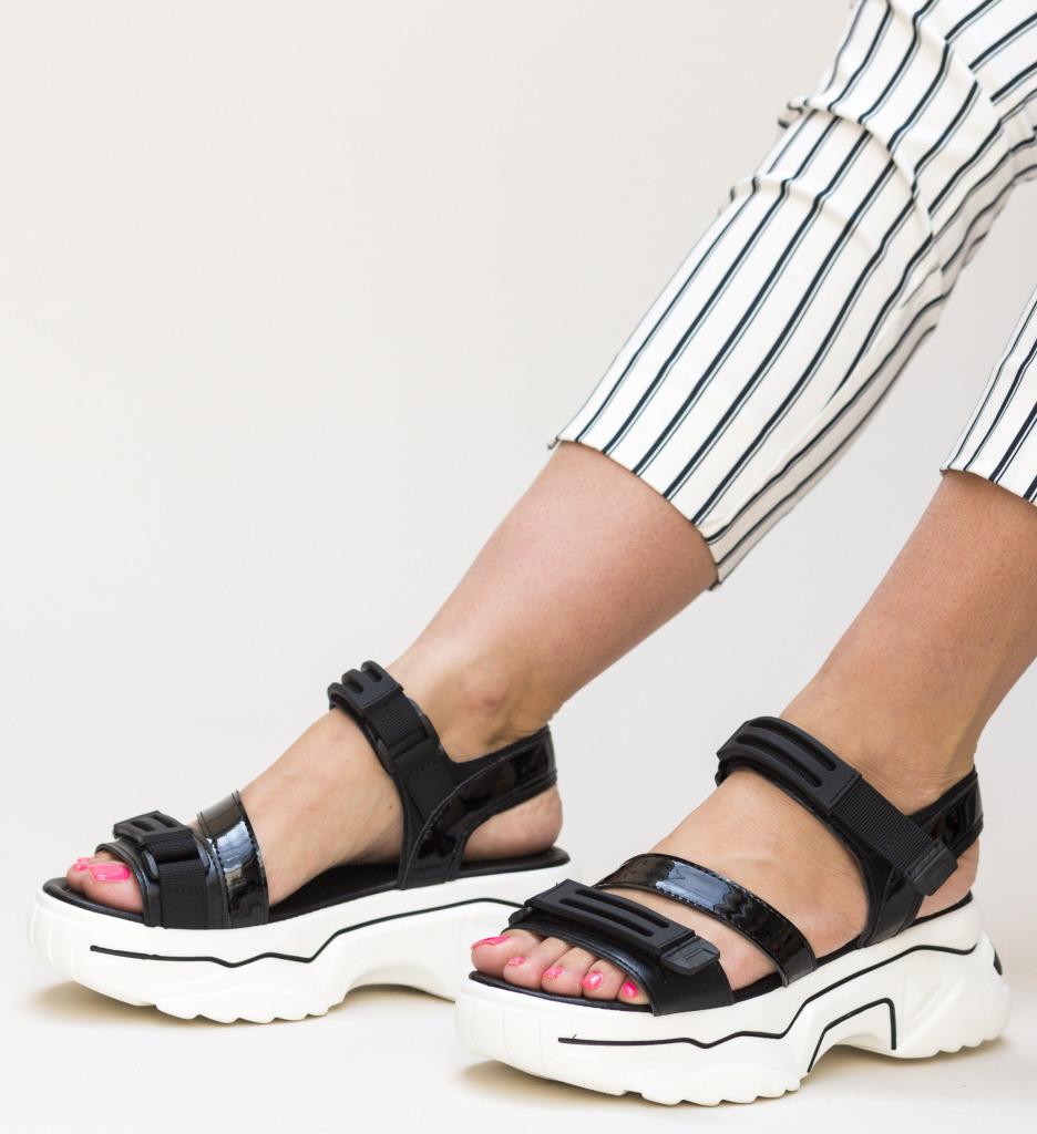 Sandale Elemenix Negre